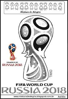 Logomarca copa mundial 2018