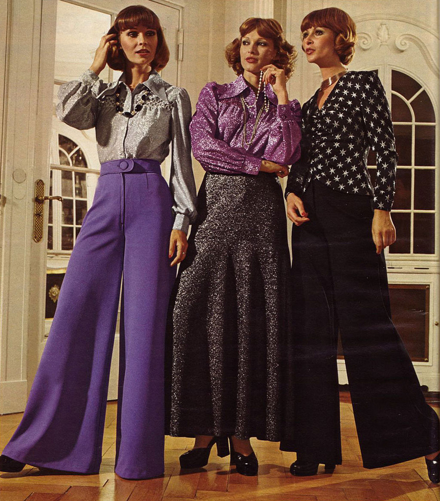 Chick Slacks of 70s Style ~ vintage everyday
