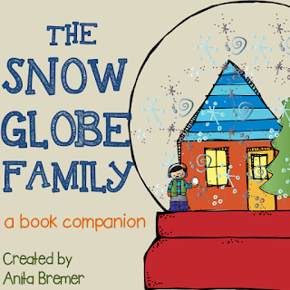 FREE book study companion activities to go with The Snow Globe Family- perfect for a winter theme!
