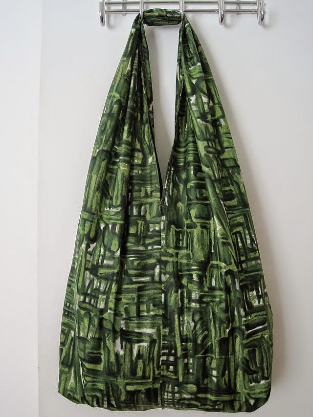bdbbc817b6b9 DIY Bright Coloured Fabric Bag - Greenie Dresses For Less