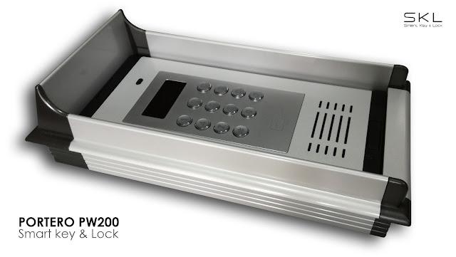 Portero automático sin cables  PW200 con apertura vía teléfono móvil
