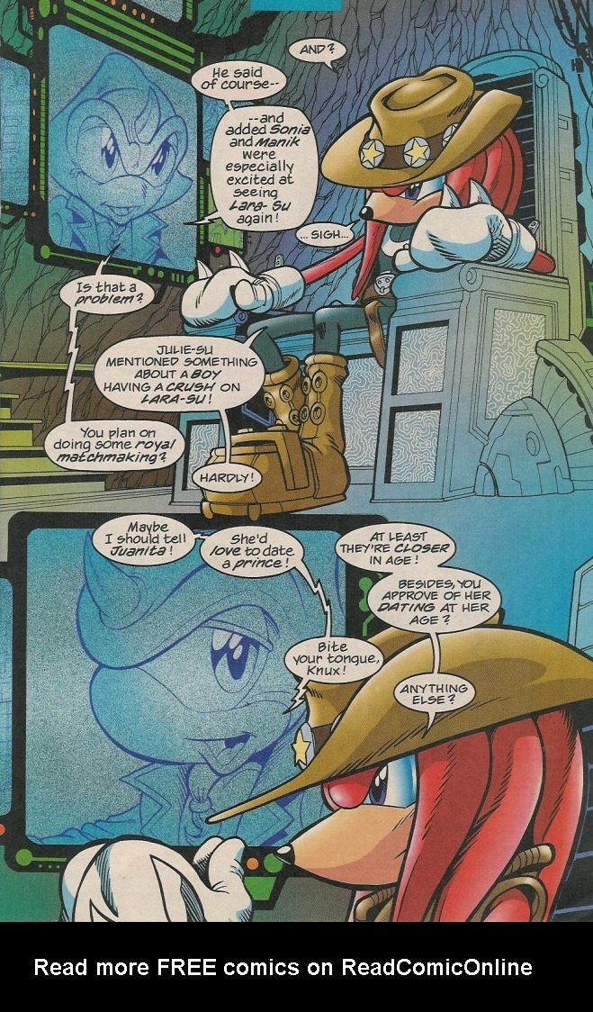 Read online Sonic The Hedgehog comic -  Issue #131 - 22