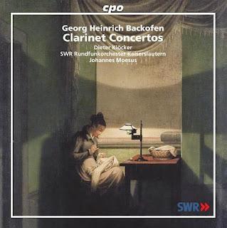 Georg Heinrich Backofen Conciertos para clarinete y orquesta