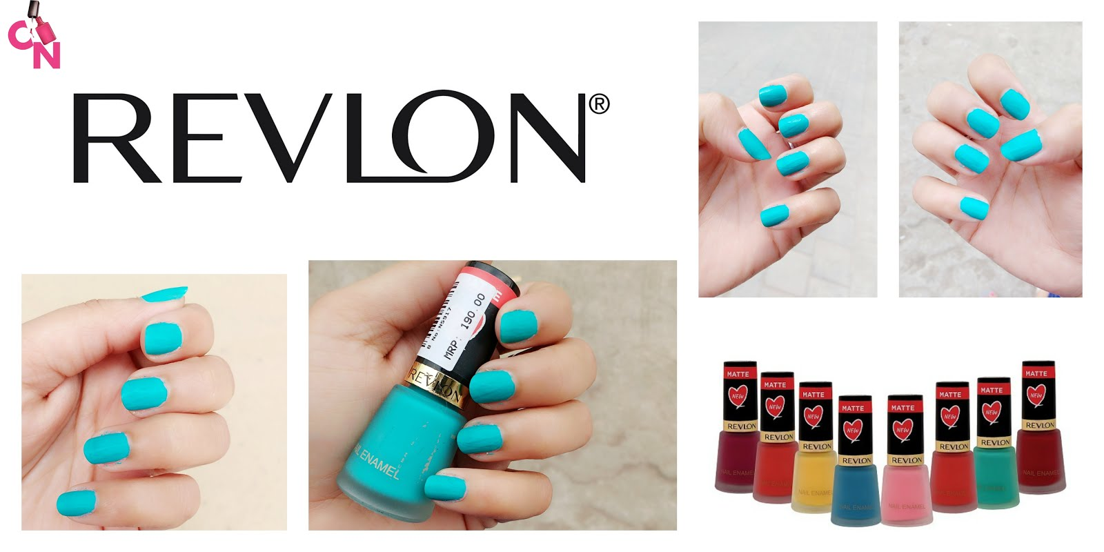 Revlon Matte Nail Polish Collection- Marine Matte: Review & Swatches