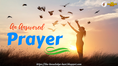 An Answered Prayer - Life Changing Inspirational poem