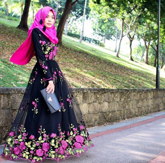 Aneka Model Baju Muslim Modern Yang Cocok Untuk Remaja Putri Paling