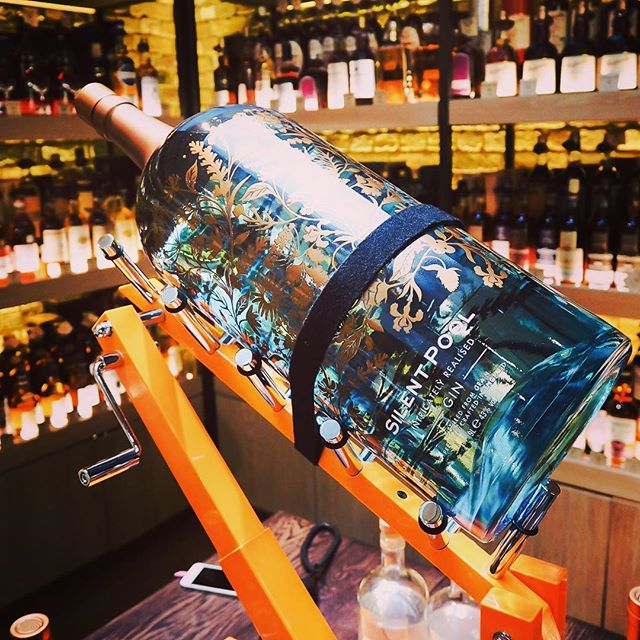 silent pool worlds largest and most expensive bottle of gin