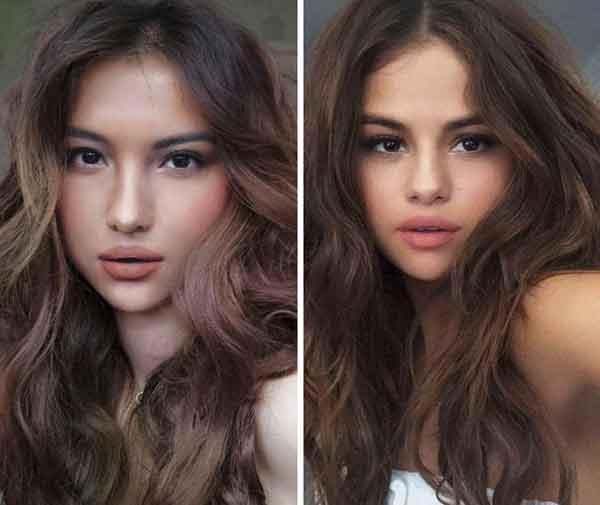 Transformasi Makeup menjadi Selena Gomez