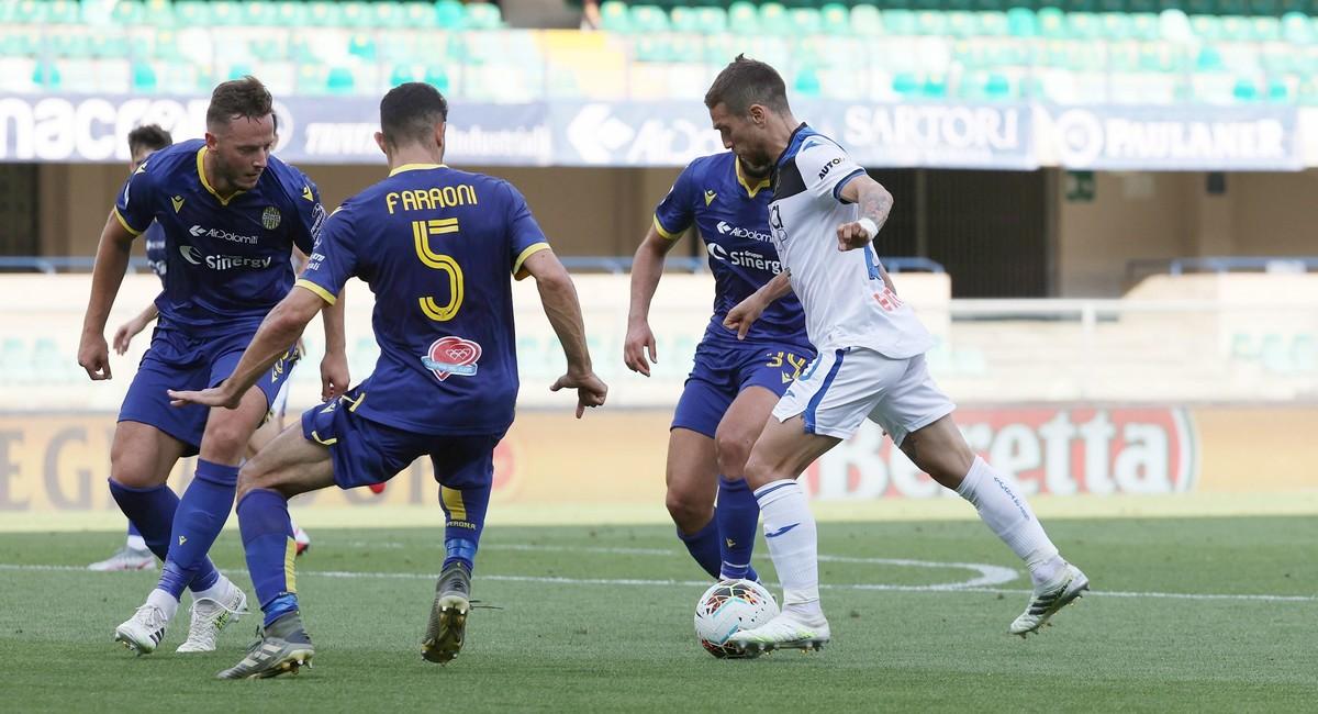 Atalanta empata 1-1 en Verona con gol de Duván Zapata