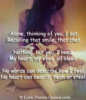 relationship breakup poems