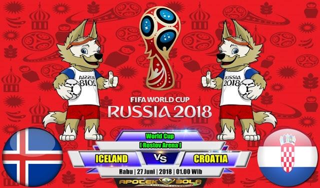 Prediksi Iceland vs Croatia 27 Juni 2018