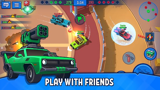 Rage of Car Force – Car Fighting Online Apk+Data Free on Android Game Download
