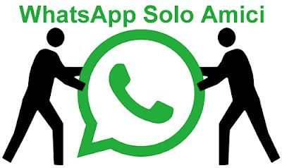 Whatsapp solo amici
