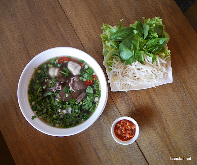 Pho Bo (Vietnamese Beef Noodle) - RM12.90
