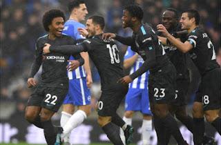 موعد مباراة تشيلسي وبرايتون اليوم الاحد 16-12-2018 في الدوري الانجليزي