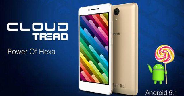 intex Cloud Tread Smartphone