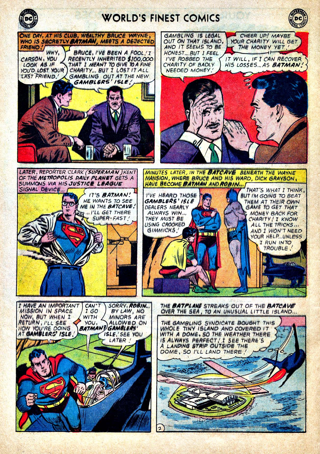 Read online World's Finest Comics comic -  Issue #150 - 4