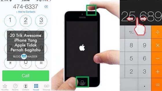 20 Trik Awesome iPhone Yang Apple Tidak Pernah Bagitahu