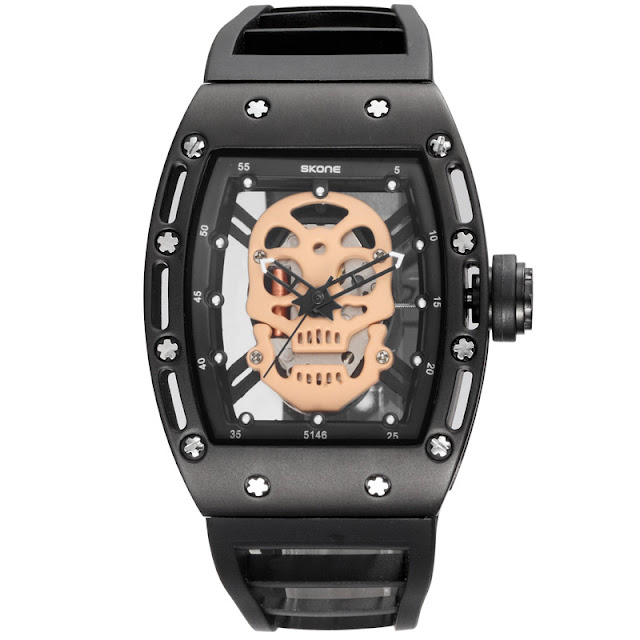 Skone Skull Watch, skone watch ราคา