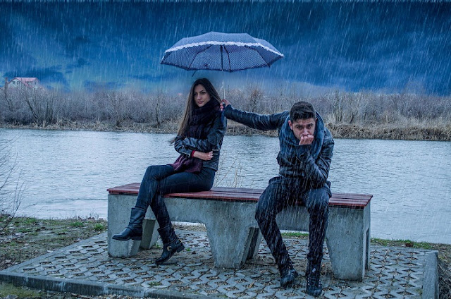 Breakup Day Rain Whatsapp Status DP