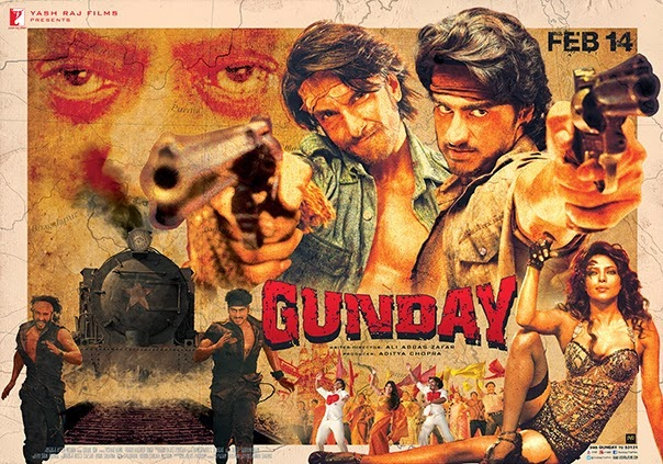 Gunday 2014 MP3 Full Album 320kbps Songs BHATTI93
