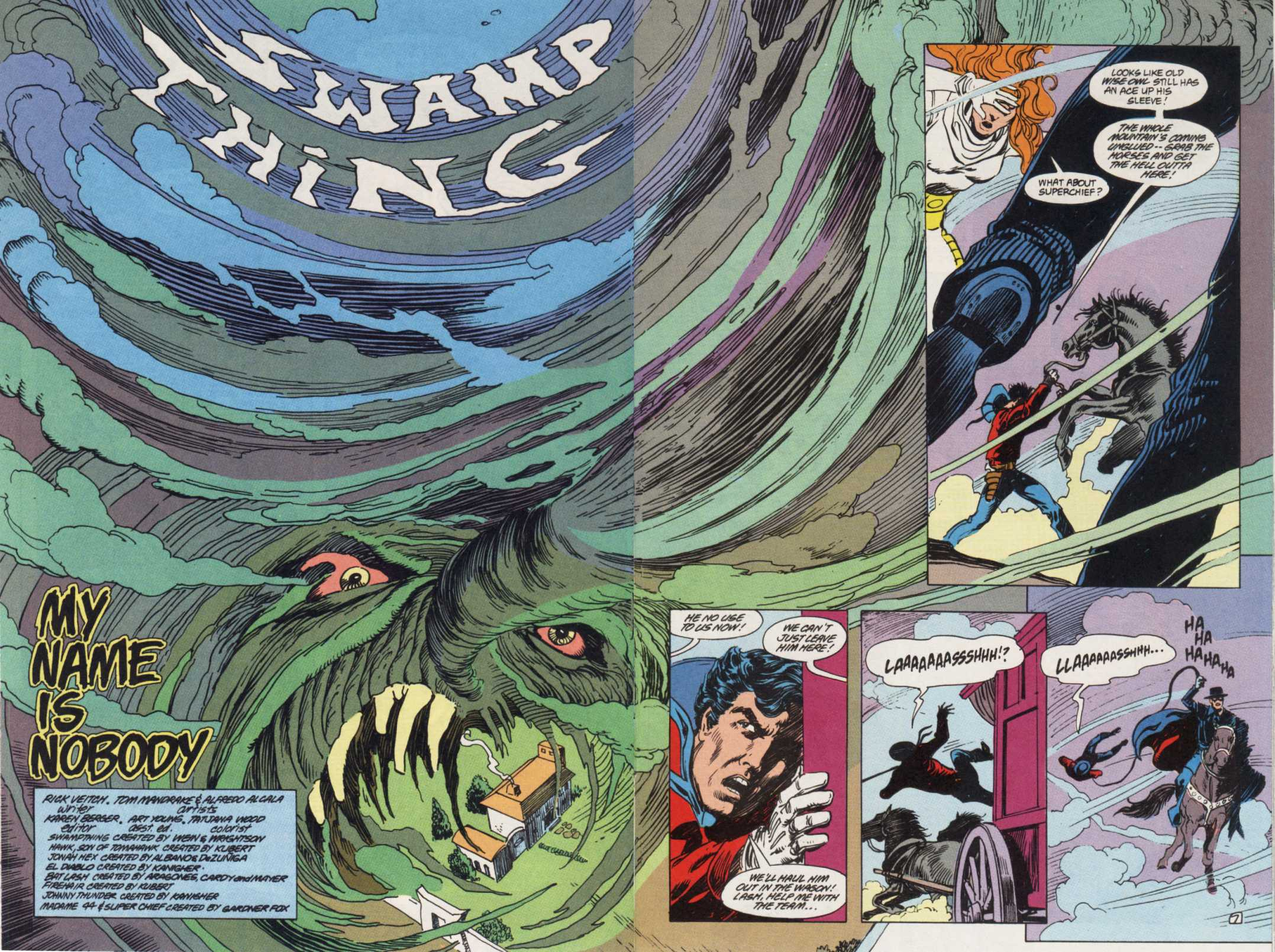 Swamp Thing (1982) Issue #85 #93 - English 7