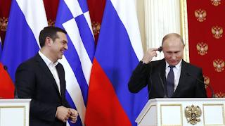 Η ερώτηση που έκλεψε την παράσταση στη συνέντευξη Τσίπρα - Πούτιν και η απάντηση με νόημα