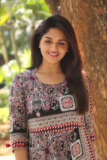 Actress Sunaina Latest Stills in Floral Dress at Pelliki Mundu Prema Katha Trailer Launch  0033.JPG