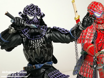 Mei Sho Manga Realization Onmitsu Black Armor Spider-Man - Tamashii Nations