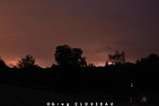 Nuit d'éclipse... oui mais surtout gros orage !