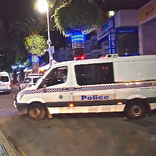Police Prisoner Escort Van to Jail
