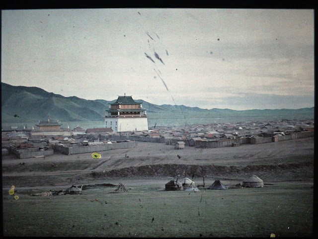 Gandan Monastery in Ulaanbaatar, early 20th century