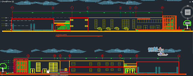 Mediatika Museum of Urban Art in AutoCAD