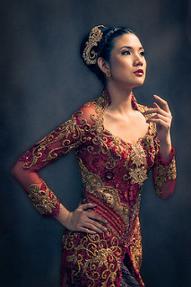 Sharon Red Kebaya