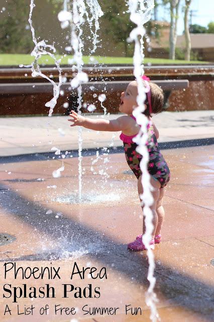 Free Splash Pads In Phoenix AZ