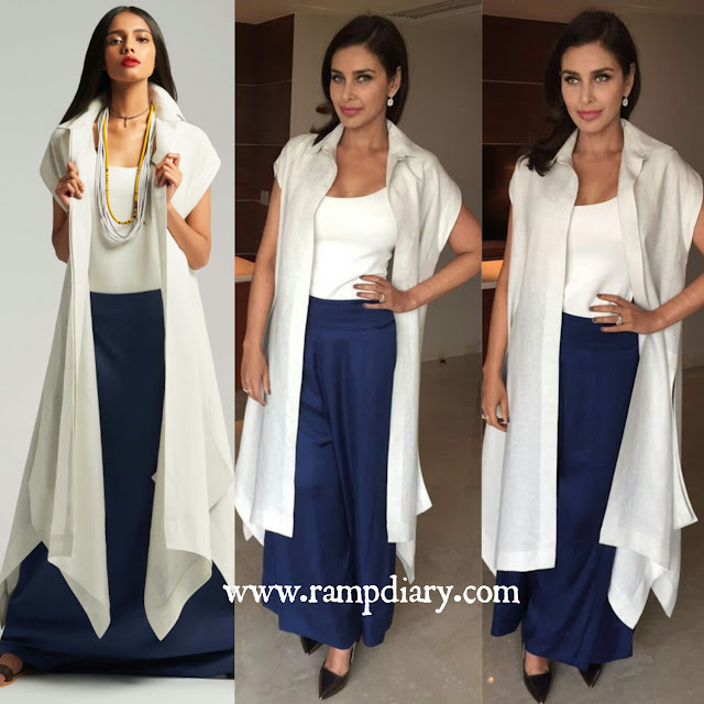 Lisa Ray In Payal Khandwala for a FICCI event