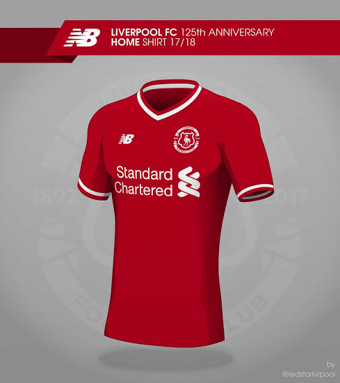 half off a169c 60e79 FTH: Liverpool 17-18 Home, Away & Third Kit Concepts by ...