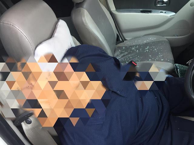 Geger! Mayat Pria Tewas dalam Mobil Daihatsu Luxio Depan NTI