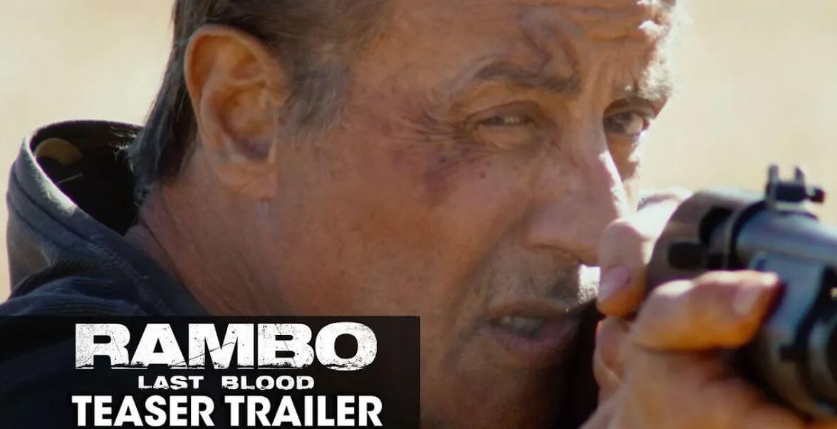 Print Screen reprodução trailer do filme Rampo 5: Last Blood