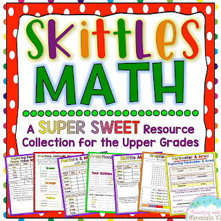 Teaching With a Mountain View: Skittles Math!