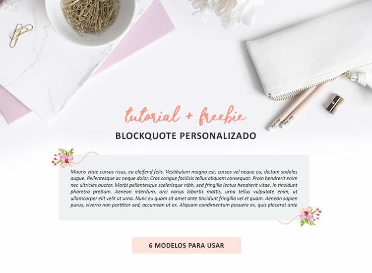 como personalizar o blockquote citações do blogger