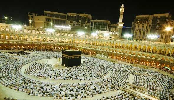 Suasana di Masjidil Haram yang menyentuh hati