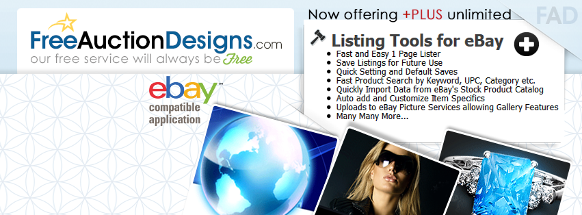 Free Auction Designs: Our Service Speaks For Itself ~