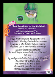 MLP Say Goodbye to the Holiday Series 5 Trading Card
