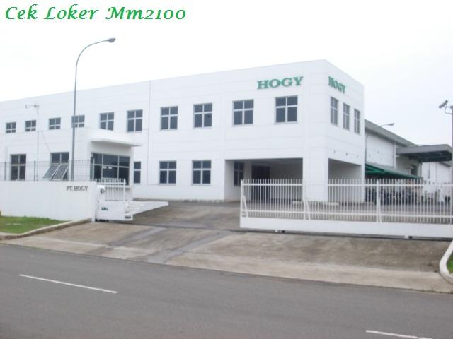 Loker Kawasan MM2100 Cibitung Untuk PT.Hogy Indonesia Lulusan Terbaru SMA/SMK