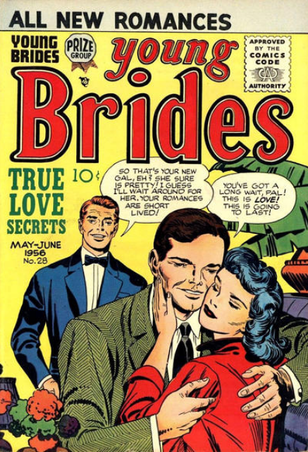 Jack Kirby romance comics