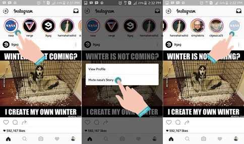 Cara Menyembunyikan Instagram Stories Orang Lain