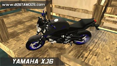 GTA - SA XJ6 BLUE RACING 2