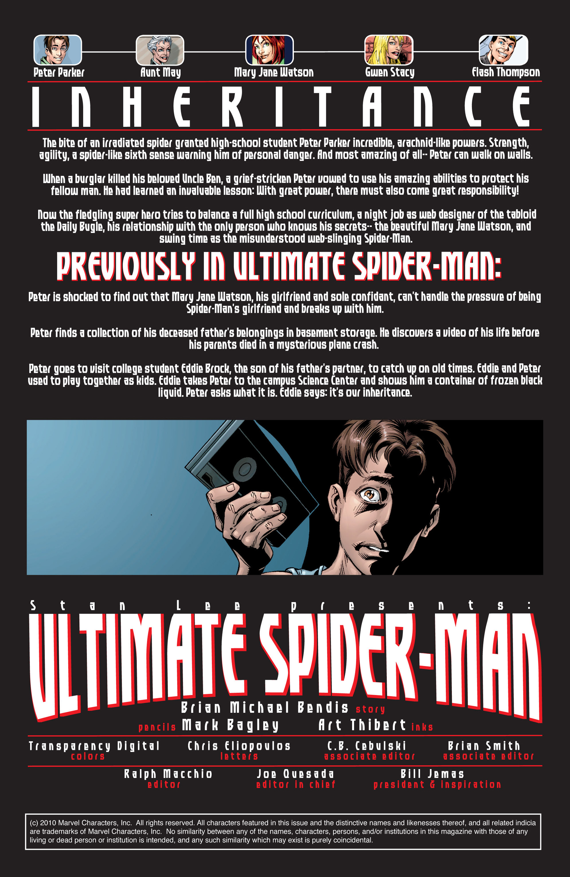 Read online Ultimate Spider-Man (2000) comic -  Issue #34 - 2