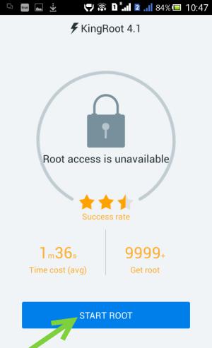 Root Gionee F5 kingroot